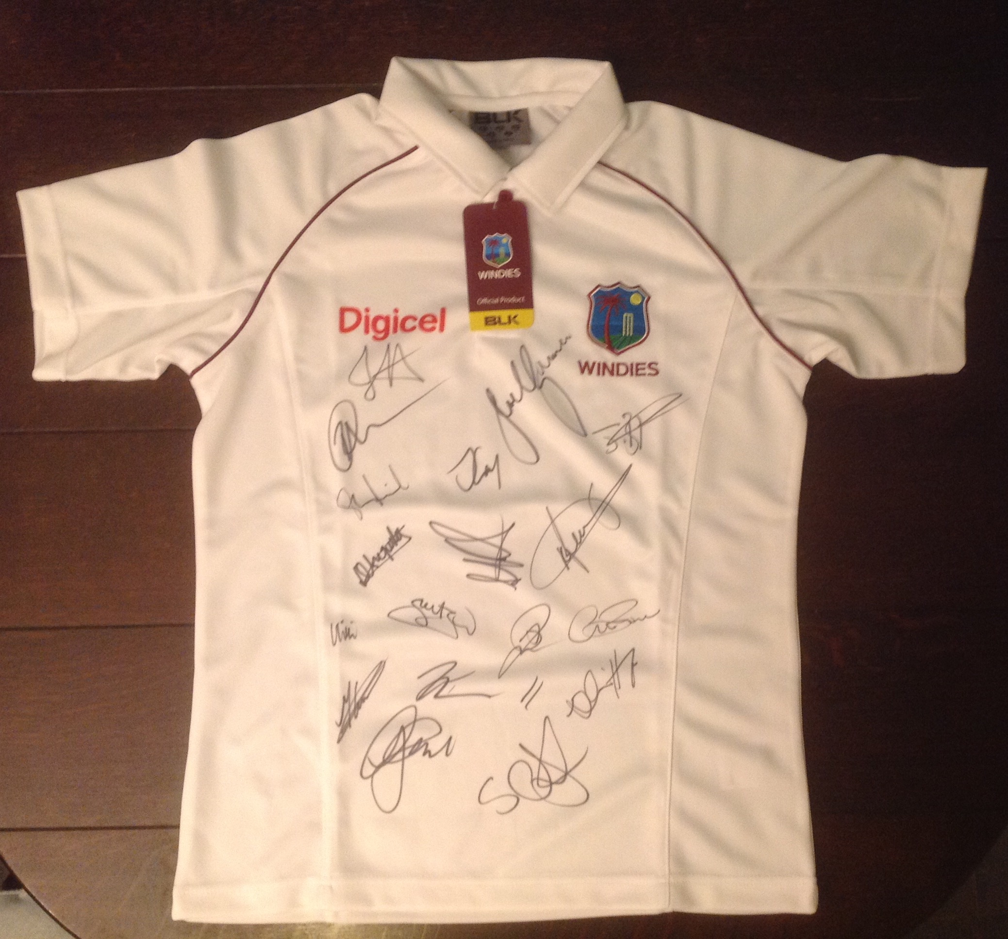 West Indies cricket shirt