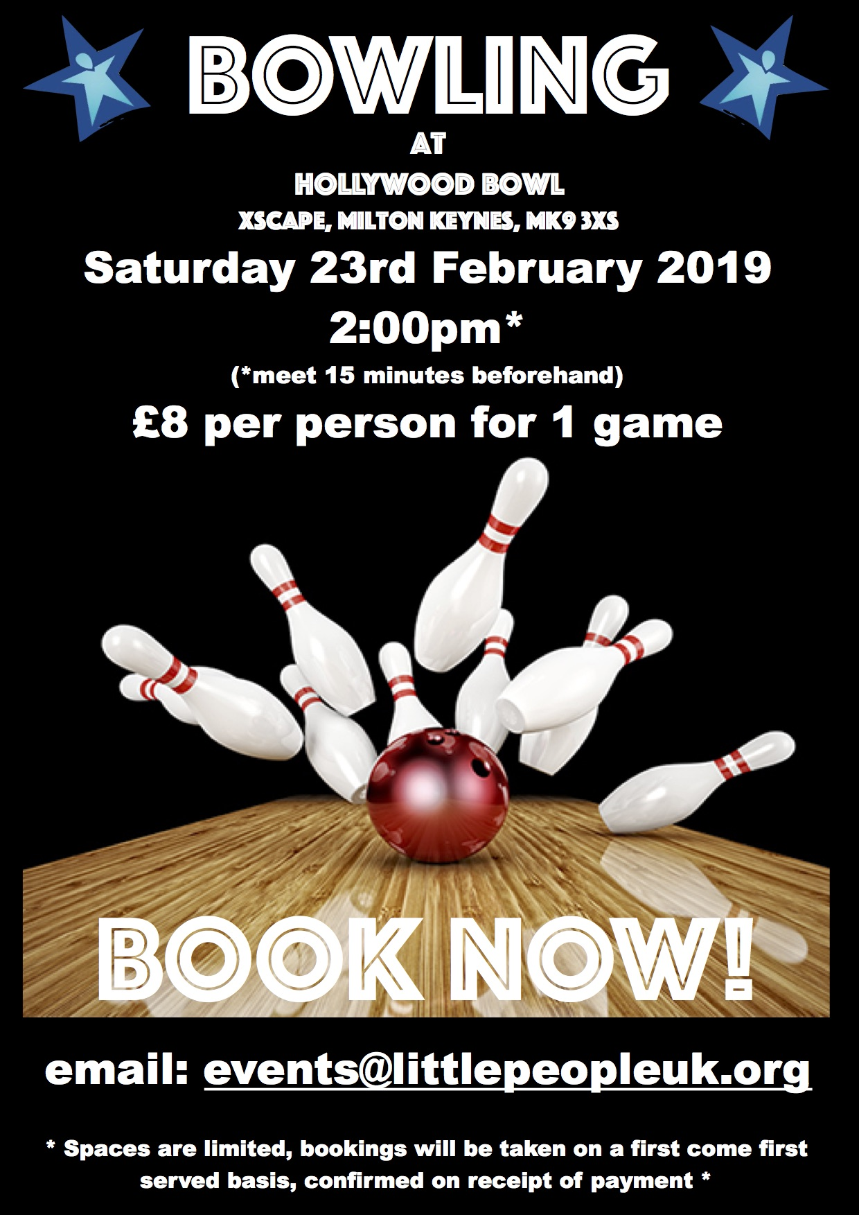 Bowling poster 2019