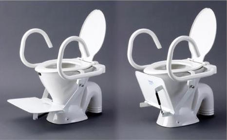 Toilet steps and seat 2