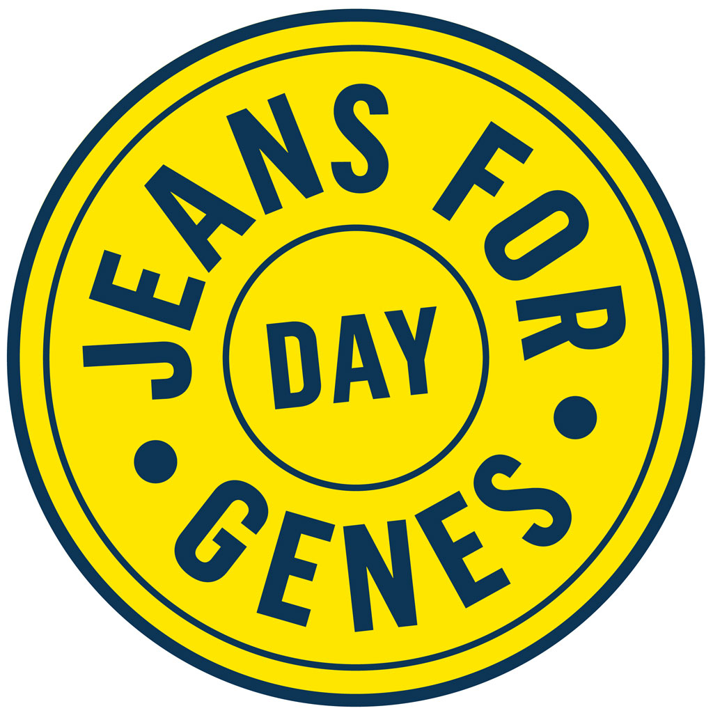 Jeans for Genes Day logo