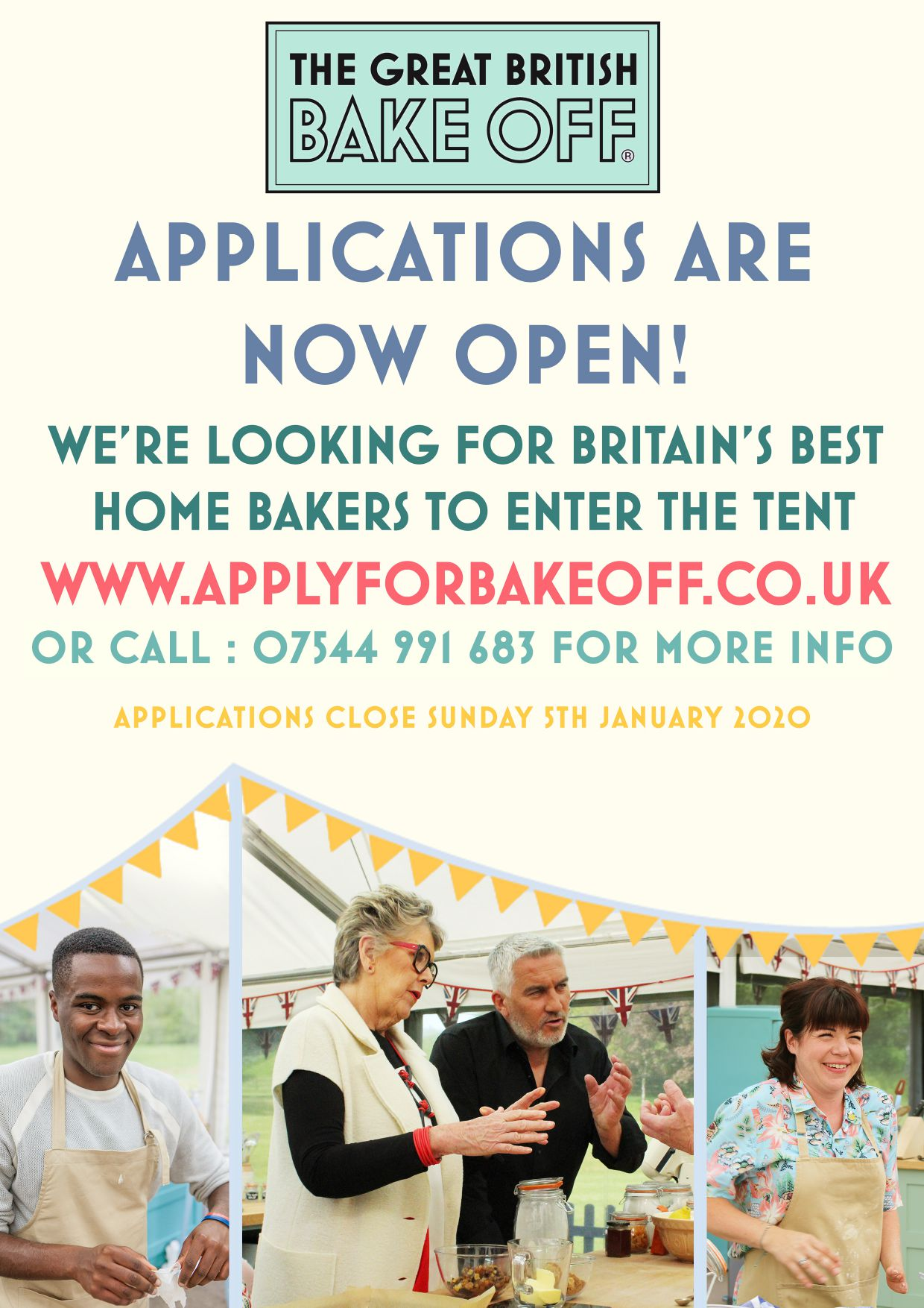GBBO11 Poster