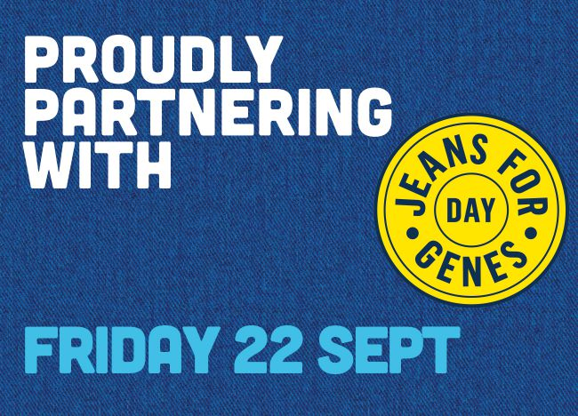 Partnering Jeans for Genes